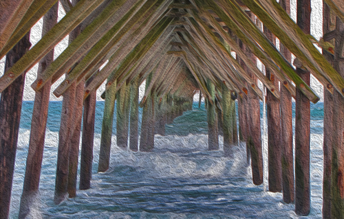 pier-painting